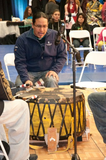First Nations Drummer