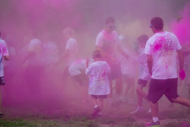 burst of colour run like 10