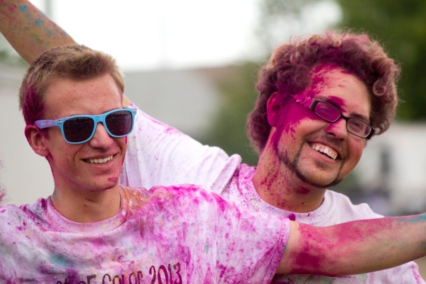burst of colour run like 20