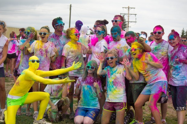 burst of colour run like 22