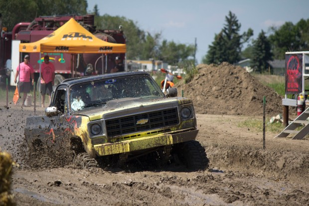 Canada day mud bog perfect