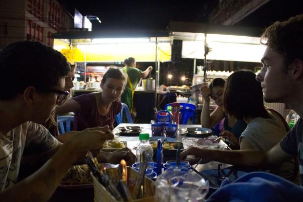 late supper Kanchanaburi