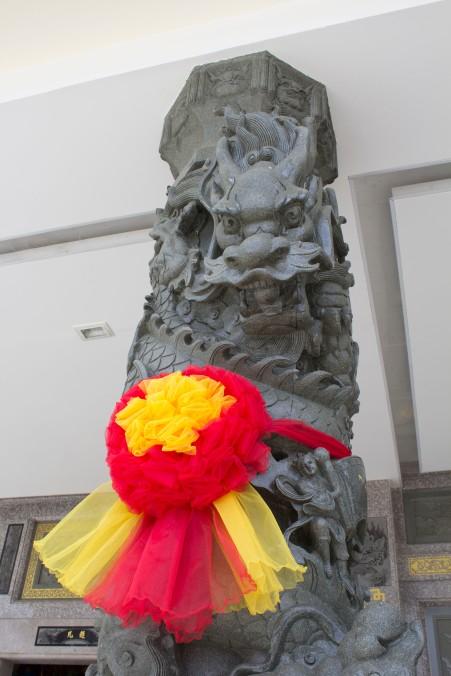 pillar at temple