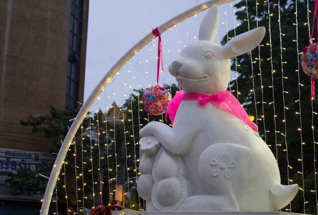 Autumn festival rabbit