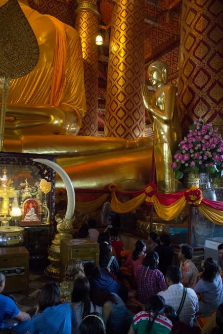 Ayuttaya giant buddha 4 size reference