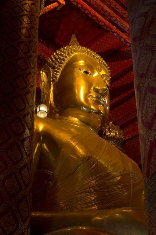 Ayuttaya giant buddha 5 new angle
