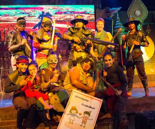 Ayuttaya market theatre 14