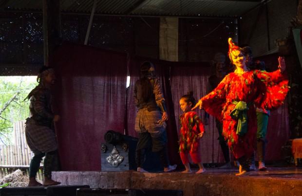 Ayuttaya market theatre 2