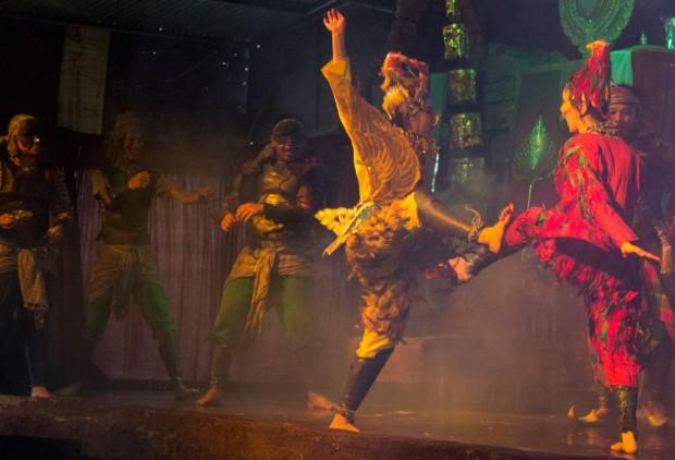 Ayuttaya market theatre 4