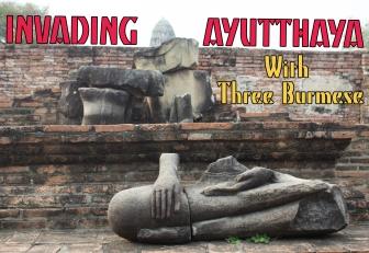 Ayutthaya with Burmese title