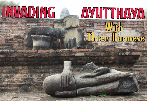 Ayutthaya with Burmese title