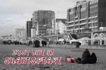 V-Day Brighton title