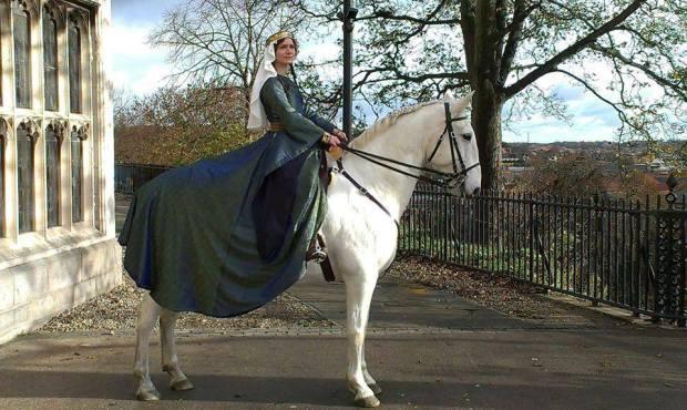 Norman Kitty Horseback