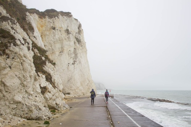 Antonia Visit Dover-16